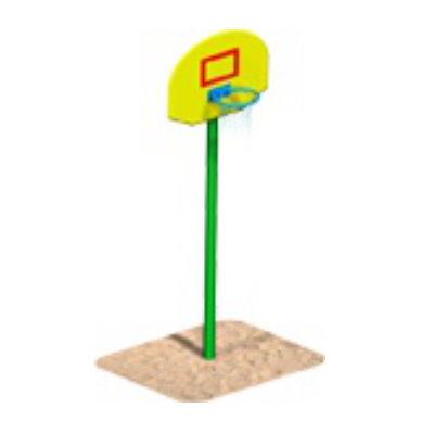 Щит баскетбольный на стойке