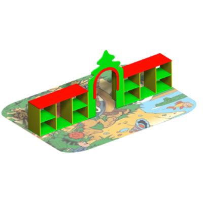 Разделитель игровых зон «ЛЕСНАЯ ОПУШКА»