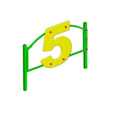 Ограждение игровой зоны «МИР ЦИФР» (калитка)