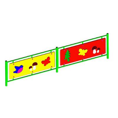 Ограждение игровой зоны «ЛЕСНАЯ ОПУШКА» (секции заборчика)