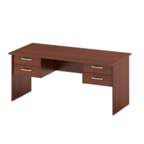 Офисный стол с 4-мя ящиками