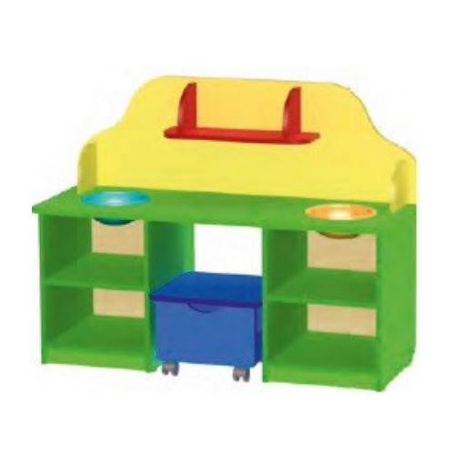 Стол детский (дидактический с пуфом)