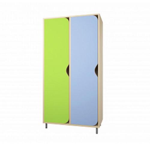 Шкаф для одежды (2-х секционный на рег. опорах)