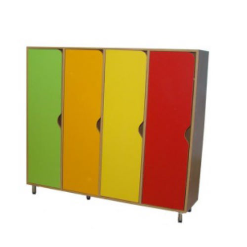 Шкаф для одежды (4-х секционный на рег. опорах)