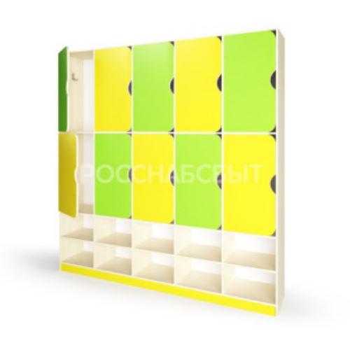 Шкаф для одежды (с полкой для обуви 5 секций)